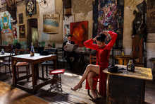 Tango - Woman in the Red Dress I