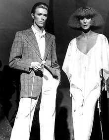 Cher and David Bowie