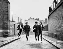 "The Beatles Running in ""A Hard Days Night"""