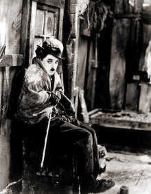 Charlie Chaplin in The Gold Rush II