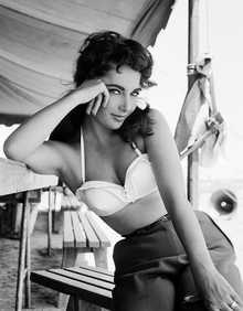 Elizabeth Taylor III by Frank Worth