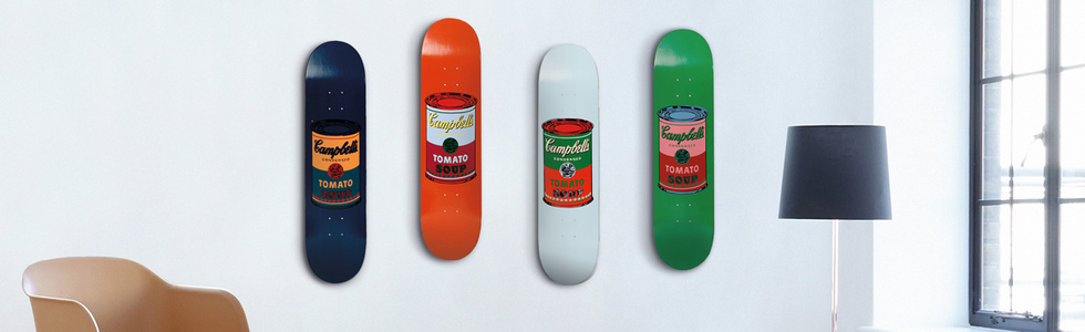 Энди Уорхол: Colored Campbell's Soup Teal, Purple, Red, & Blood